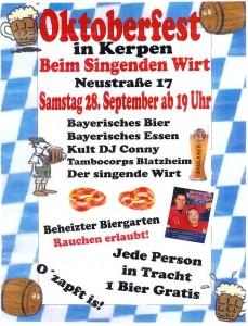 Oktoberfest Lohnert 280913
